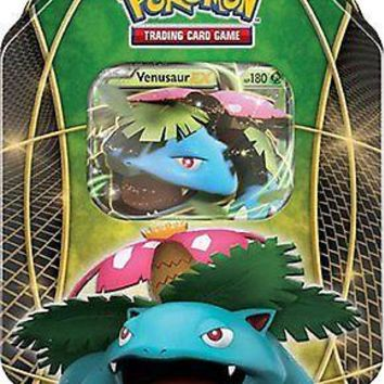Pokemon TCG Card Game Venusaur EX 2015 Power Trio Collector's Tin