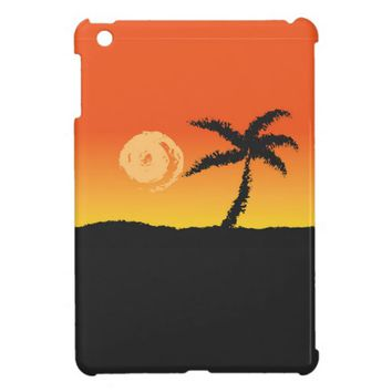 Island Sunset iPad Mini Cases