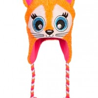 Fuzzy Critter Cat Earflap Hat | Girls Winter Accessories Accessories | Shop Justice