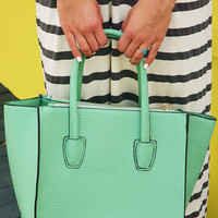 Bag To Differ Purse: Mint