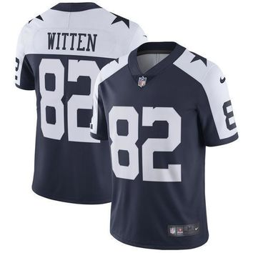 Men's Dallas Cowboys Tony Romo Nike Anthracite Salute to Service Limited Jersey