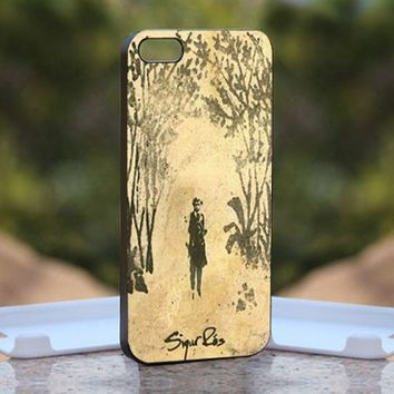 Sigur Ros Beauty Art Cover, Print on Hard Cover iPhone 5 Black Case