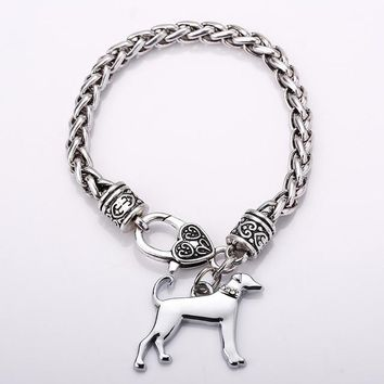 Dog Charm Bracelets Fashion Jewelry