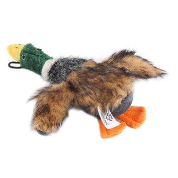 Stuffed Squeaking Duck Dog Toy