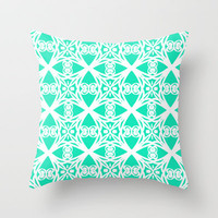 Charisma Throw Pillow by Lisa Argyropoulos