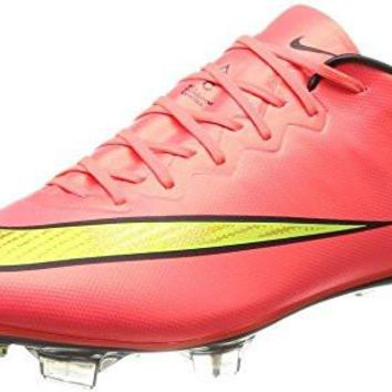 nike mercurial vapor X FG mens football boots 648553 soccer cleats (us 11, hyper punch metallic gold black volt 690)
