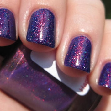 Dangerous Driver (linear holographic/red to green color shifting) Nail Polish