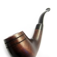 Tobacciana Porsche Design Pipe Tobacco Smoking Pipe, Pear Wood + BOX. Designed for Pipe Smokers.