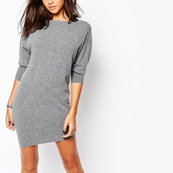 Sisley Oversized Knitted Dress