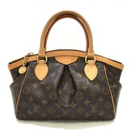 Authentic LOUIS VUITTON Tivoli PM Handbag Bag Monogram Canvas M40143