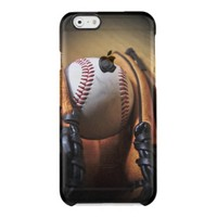Case: Baseball Season Uncommon Clearly™ Deflector iPhone 6 Case