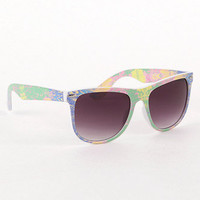 With Love From CA Paint Splatter Sunglasses at PacSun.com
