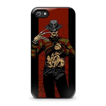 freddy krueger 1 iphone 5 5s se case cover  number 1