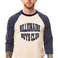 The Diamond Dollar Raglan in Heather Oatmeal