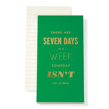 kate spade new york: Seven Days a Week Notepad