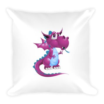 Draco Purple Pillow