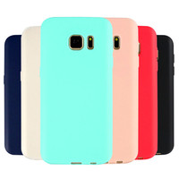 2017 New Ultra Thin Matte Mobile Phone Cases For Samsung Galaxy A3 A5 A7 J5 J7 2016 Prime C5 C7 C9 NOTE 7 S6 S7 Edge Phone Cases