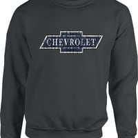 Chevrolet Vintage Bowtie Sweatshirt-Chevy Mall
