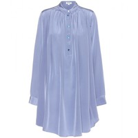 kenzo - silk shirt dress