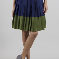 Bass Harbor Skirt- Color Block