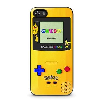 pokemon game boy iphone 5 5s se case cover  number 3