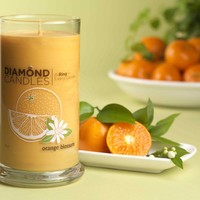 Orange Blossom Ring Candle