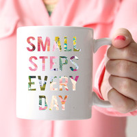 Small Steps Every Day Mug