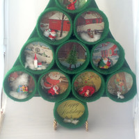 Vintage Handcrafted Christmas Tree