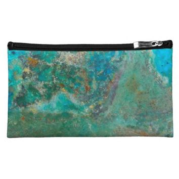 Blue Stone Cosmetic Bag
