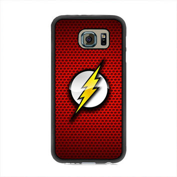 The Flash Red Logo Samsung Galaxy S6 Case