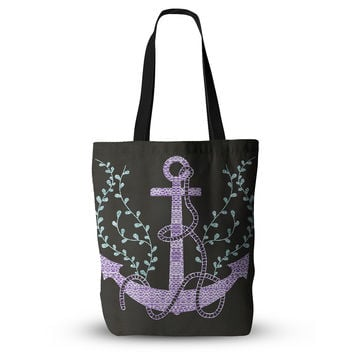 "Pom Graphic Design ""Tribal Nautica I"" Everything Tote Bag"