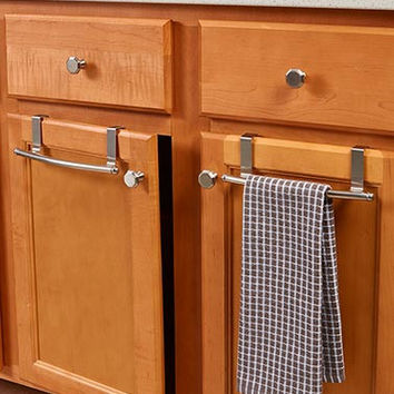 Sets of 2 Over-the-Cabinet Towel Bars