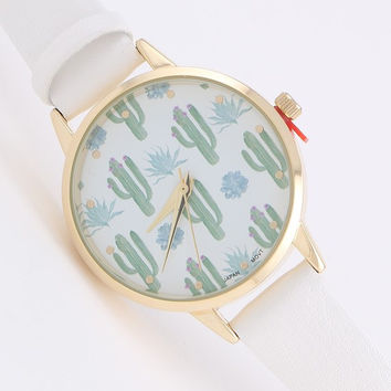 Desert Cactus Watch