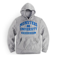 Collegiate Hoodie Grey| Store | Monsters University