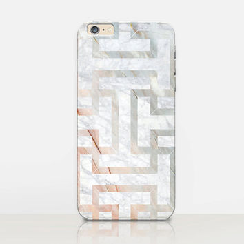 Art Deco Marble Phone Case - iPhone 6 Case - iPhone 5 Case - iPhone 4 Case - Samsung S4 Case - iPhone 5C - Tough Case - Matte Case - Samsung