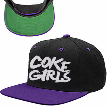COKE GIRLS SNAPBACK HAT