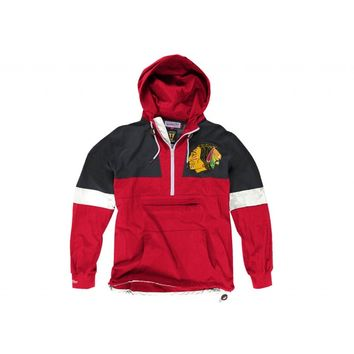 Half Zip Windbreaker Chicago Blackhawks - Mitchell & Ness