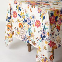 "Heredia Tablecloth by Anthropologie in Multi Size: 72"" X 120"" Kitchen"