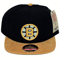 Boston Bruins Vault Logo Snapback