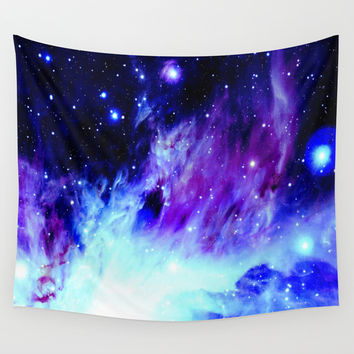 Nebula 6 Wall Tapestry by 2sweet4words Designs