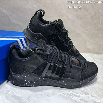 KUYOU A360 Adidas EQT-7 Climacool Mesh Running Shoes Black