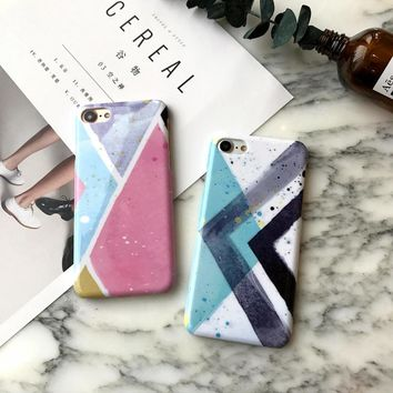 Phone Cases For iPhone 6 6s 7 Plus Case Watercolor