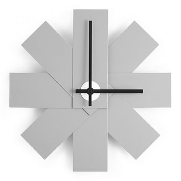 Watch Me Clock in Grey by Normann Copenhagen - Pop! Gift Boutique