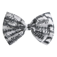 LOVEsick Music Note Hair Bow