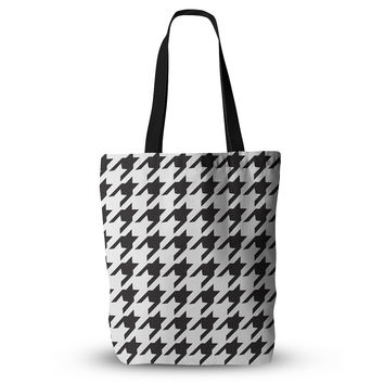 "Empire Ruhl ""Spacey Houndstooth"" Everything Tote Bag"