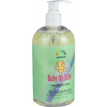 Baby Oh Baby Organic Herbal Shampoo Unscented ( 2 - 16 FZ)