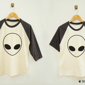Alien TShirt Fashion Instagram Hipster Shirt Robot TShirt Baseball Tee Shirt Raglan Shirt Baseball Shirt Unisex Shirt Women Shirt Men Shirt