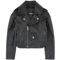 Dsquared2 Girls Leather Biker Jacket