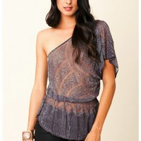Parker - One Shoulder Top