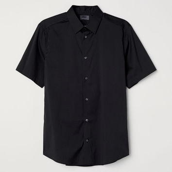 H&M Short-sleeved Shirt Slim fit $29.99